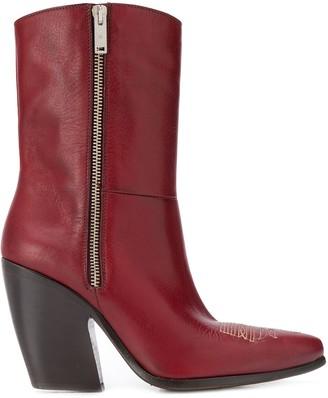 Golden Goose curved heel boots