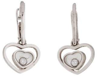 Chopard Diamond Happy Hearts Drop Earrings