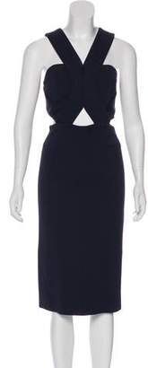 Nicholas Sleeveless Evening Dress