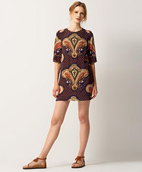 3.1 Phillip Lim Paisley Shift Dress