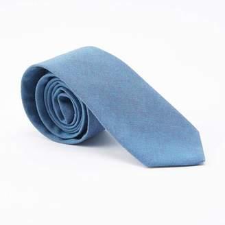 Blade + Blue Solid Light Aqua Blue Tie