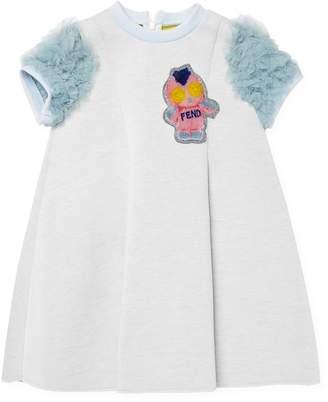 Fendi Ruffle Patch Dress