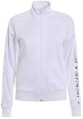 Givenchy Zip Front Logo Jacket