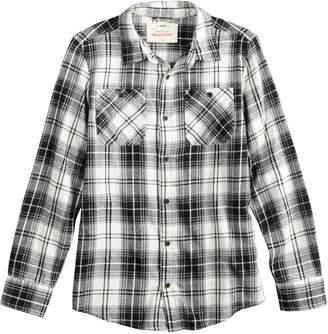 Boys 8-20 Urban Pipeline Plaid Button-Down Flannel Shirt