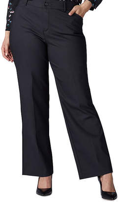 Lee Womens Wide Leg Trouser-Plus