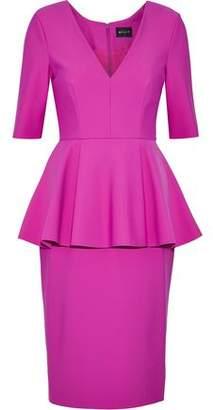 Milly Scuba Peplum Dress