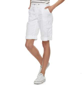UNIONBAY Juniors' Greyson Convertible Skimmer Shorts
