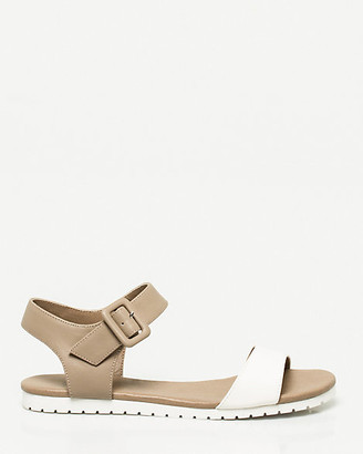Le Château Faux Leather One Band Sandal