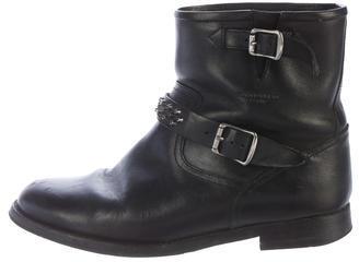 Saint LaurentSaint Laurent Studded Leather Ankle Boots