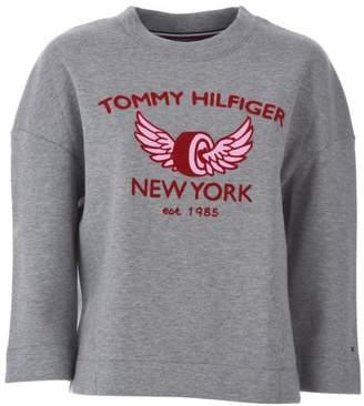 Tommy Hilfiger (トミー ヒルフィガー) - Tommy Hilfiger Comfort Fit Logo Sweatshirt