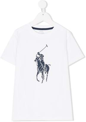 Ralph Lauren polo print T-shirt