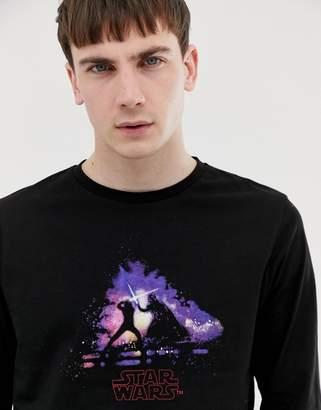 Star Wars Asos Design ASOS DESIGN long sleeve t-shirt