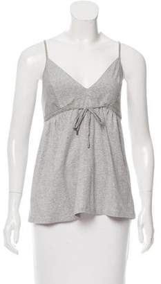 Brunello Cucinelli V-Neck Sleeveless Top w/ Tags