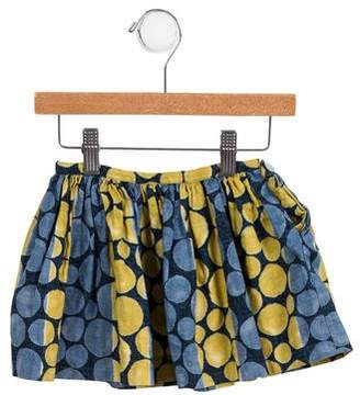 Dagmar Daley Girls' Polka Dot Flared Skirt
