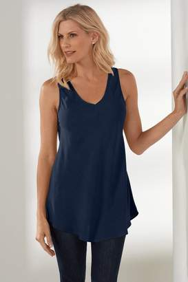 Soft Surroundings Silk Sophia Tank