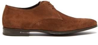 Paul Smith Coney Suede Derby Shoes - Mens - Tan