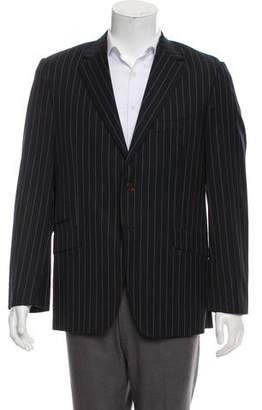 Paul Smith Pinstripe Wool Blazer