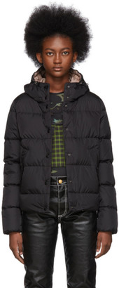 Moncler Black Down Lana Hooded Jacket