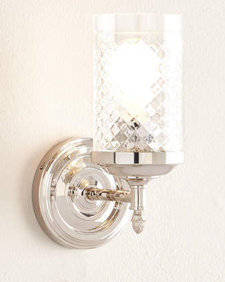 Horchow Visual Comfort Lita Polished-Nickel Single Sconce
