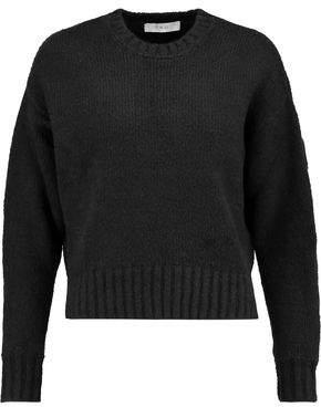 IRO Lace-up Cotton-blend Sweater