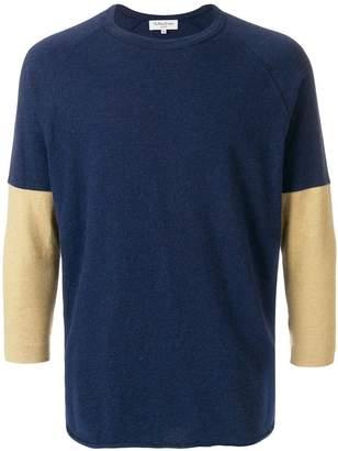 YMC contrast sleeves T-shirt