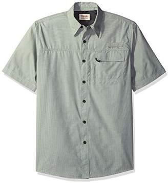 Wrangler Authentics Men's Big-Tall Short Sleeve Utility Shirt