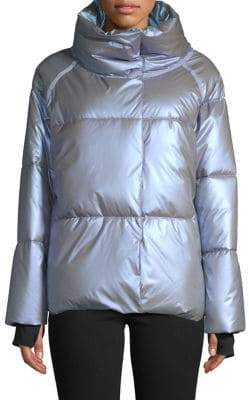 Calvin Klein Quilted Stand Collar Jacket