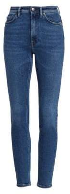 Acne Studios High-Rise Five-Pocket Jeans