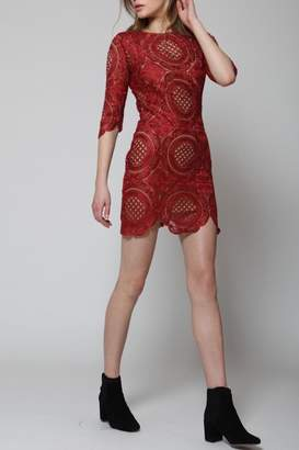 Goldie Lace Mini Dress