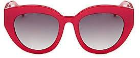 Colors In Optics Women's Carnavale Thick Plastic Cat Eye Sunglasses