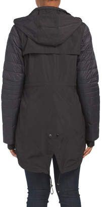 Pajar Iris Raincoat With Quilted Sleeves