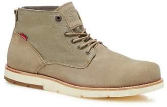 Levi's LEVIS Natural Suede 'Jax' Chukka Boots