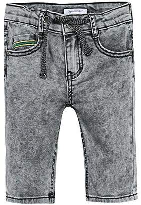 3 Pommes Boy's Rebel Touch 2 Swim Shorts, (Gris Anthracite), (Size: 5A/6A)