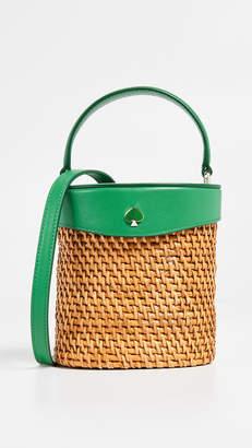 Kate Spade Rose Mini Bucket Bag