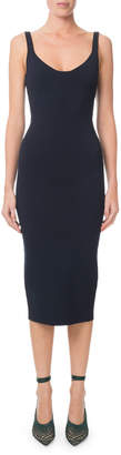 Roland Mouret Sleeveless Bodycon Midi Dress