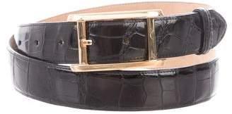 Cartier Tank Américaine Crocodile Belt