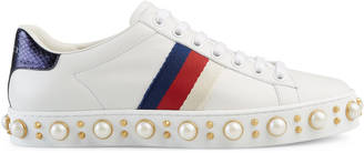 Ace studded low-top sneaker $980 thestylecure.com