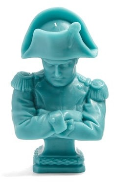 Cire Trudon Napoleon Bust Decorative Candle - Womens - Blue
