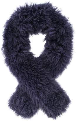Yves Salomon Accessories fluffy scarf