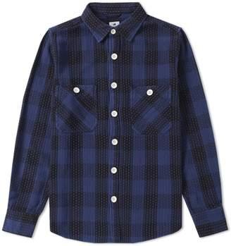SASQUATCHfabrix. Sashiko Block Check Shirt