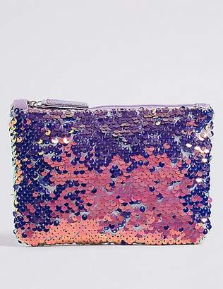 Marks and Spencer Kids' Sequin Phone Bag