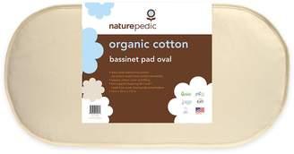 Naturepedic Organic Cotton Oval Bassinet Mattress