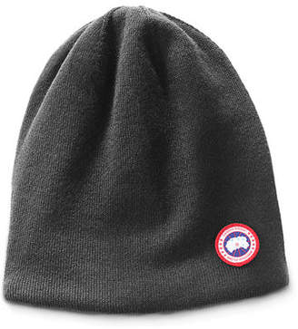 7a11e998769 Canada Goose Men s Standard Logo Toque Winter Beanie Hat