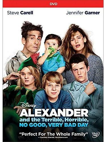 """WALT DISNEY VIDEO """"Alexander and The Terrible Horrible No Good Very Bad Day"""" DVD"""