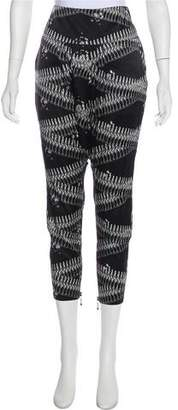 Thomas Wylde Printed Harem Pants