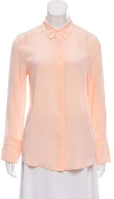 Equipment Silk Rounded Collar Shirt Silk Rounded Collar Shirt