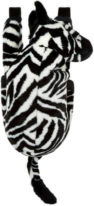 Dolce & Gabbana Faux Fur Zebra Backpack