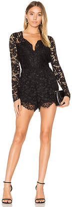 Lovers + Friends Lovers + Friends Eve Romper in Black $210 thestylecure.com