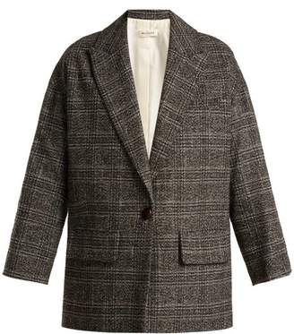 Masscob Carter Checked Blazer - Womens - Grey Multi
