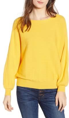 Cotton Emporium Dolman Boat Neck Sweater